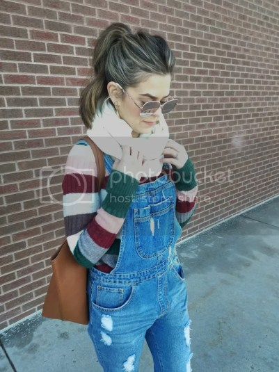 Dressed up overalls, outfit details via Mélange blog www.mollyxmackay.com