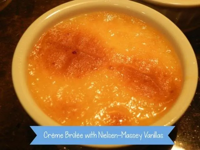 Crème Brûlée with Nielsen-Massey Vanillas