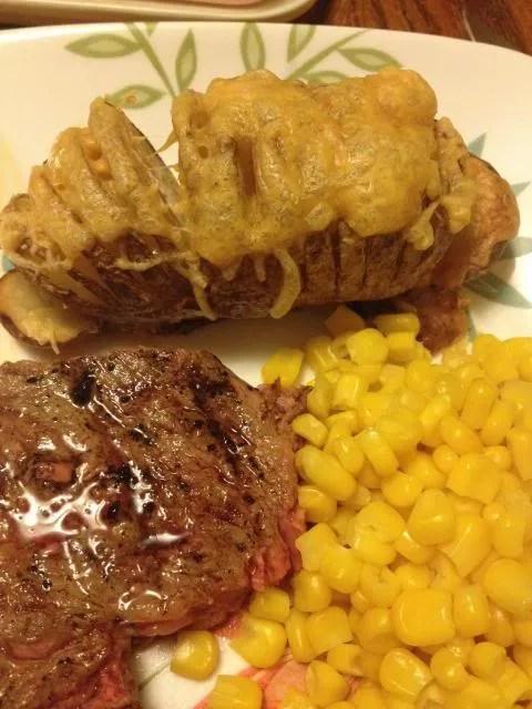 Easy Recipes-Hasselback Potatoes
