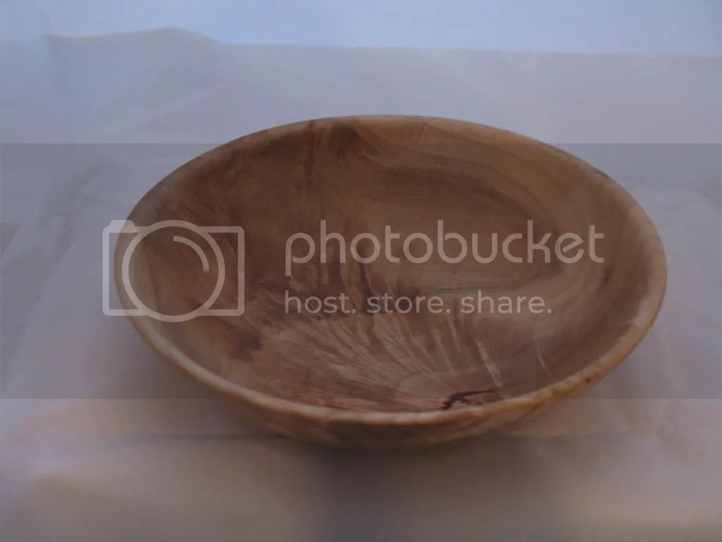 Maple crotch bowl