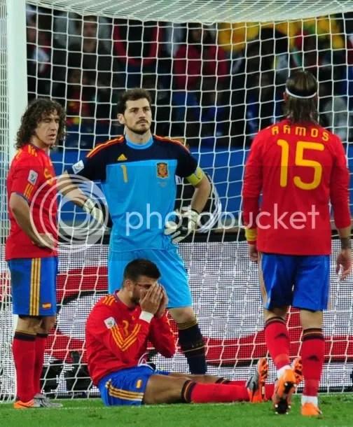 Spain haz a sad.