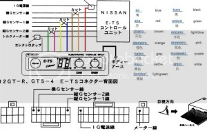 Field ETS wiring diagram  Skyline Owners Forum