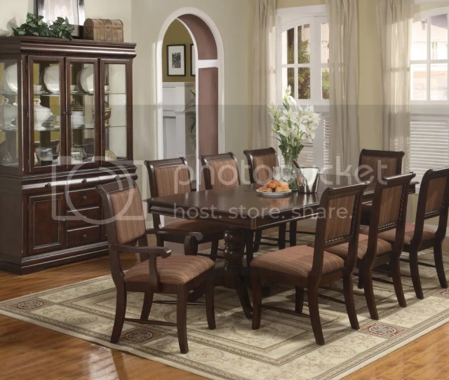 Merlot Formal Dining Room Set