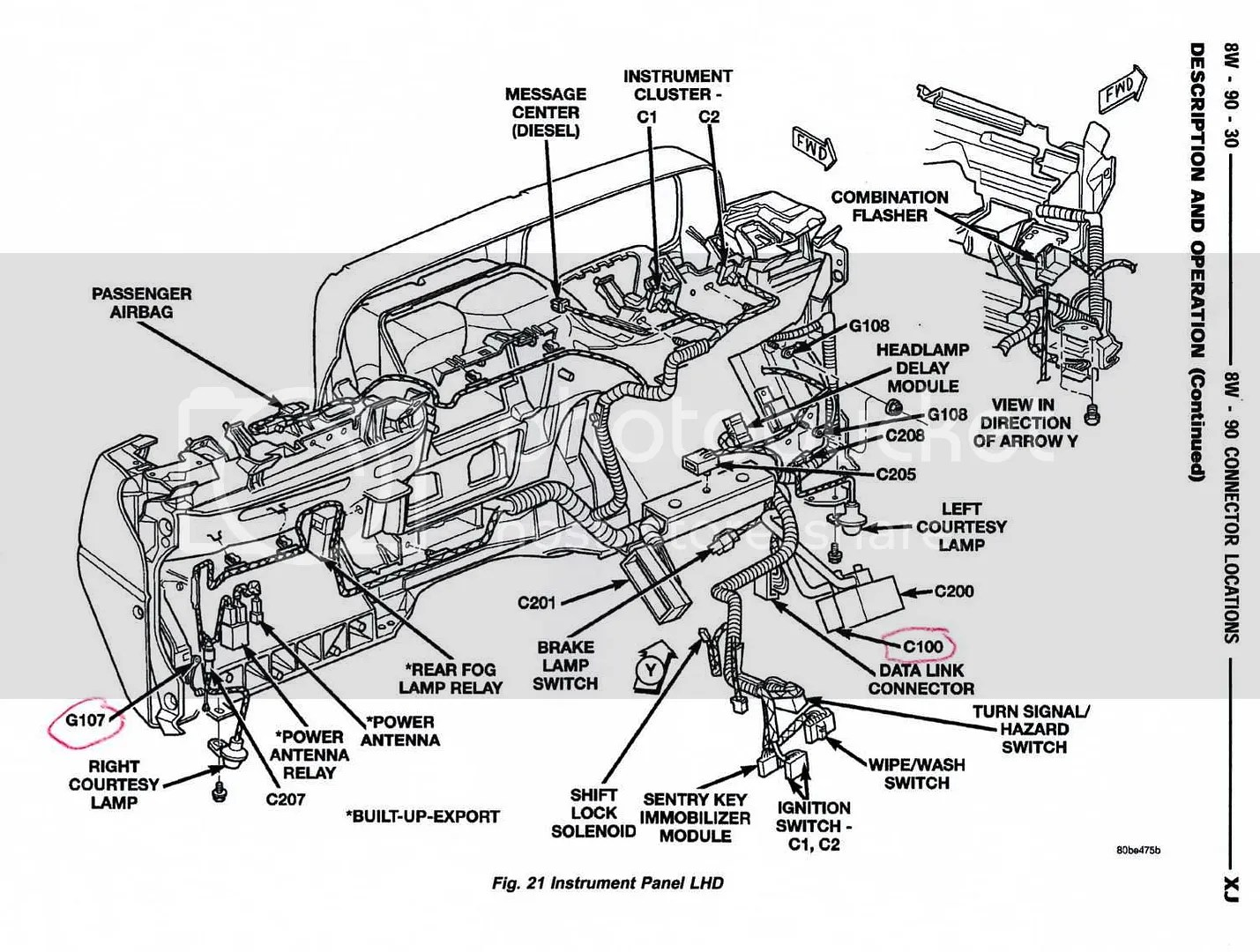 91 Jeep Wrangler Engine Diagram