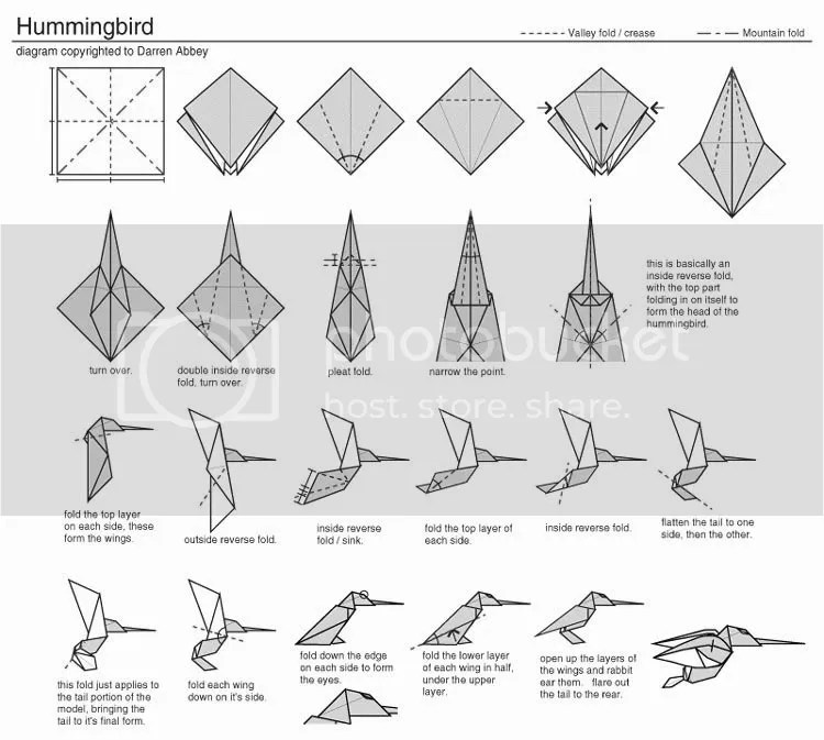 panduan  kertas origami