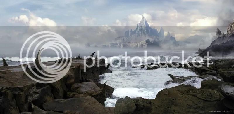 Thorniak Peninsula by JJasso 170 Matte Paintings de babar