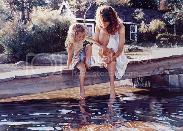 13060 As incríveis aquareleas de Steve Hanks