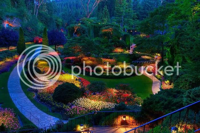 ButchartGardens O jardim mais bonito do mundo