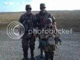 Da boys on their duck hunting trip. I'm glad their having a good time.