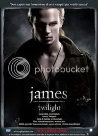 James (Cam Gigandet) - Twilight Movie