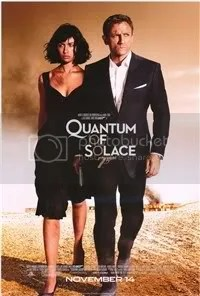 Quantum of Solace - james Bond Movie