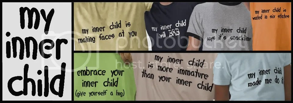 my inner child funny t-shirts