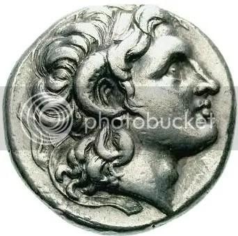 Alexander coin rams horn