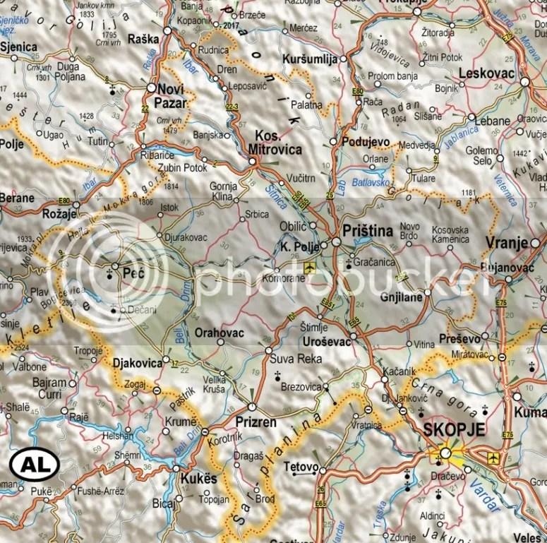 Srbi na Kosovu i Metohiji danas Onamo namo