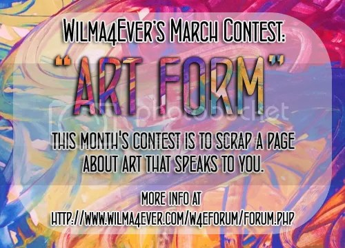 March Contest - Art Form with ABC Creations