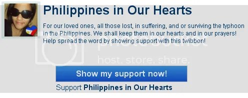 Philippines in our hears