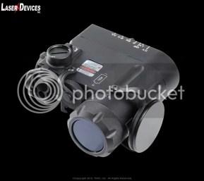Vista frontal. Prototipo láser multifunción LDI DBAL-D2