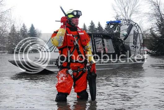 Coast Guard on the scene