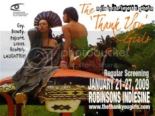 The Thank You Girls - Jan 21-27 Robinsons Indiesine - Manila