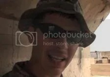 Ryan Conklin in Iraq