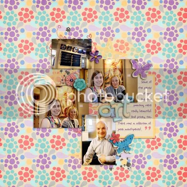 Mom's Visit Day Thirteen: Art
