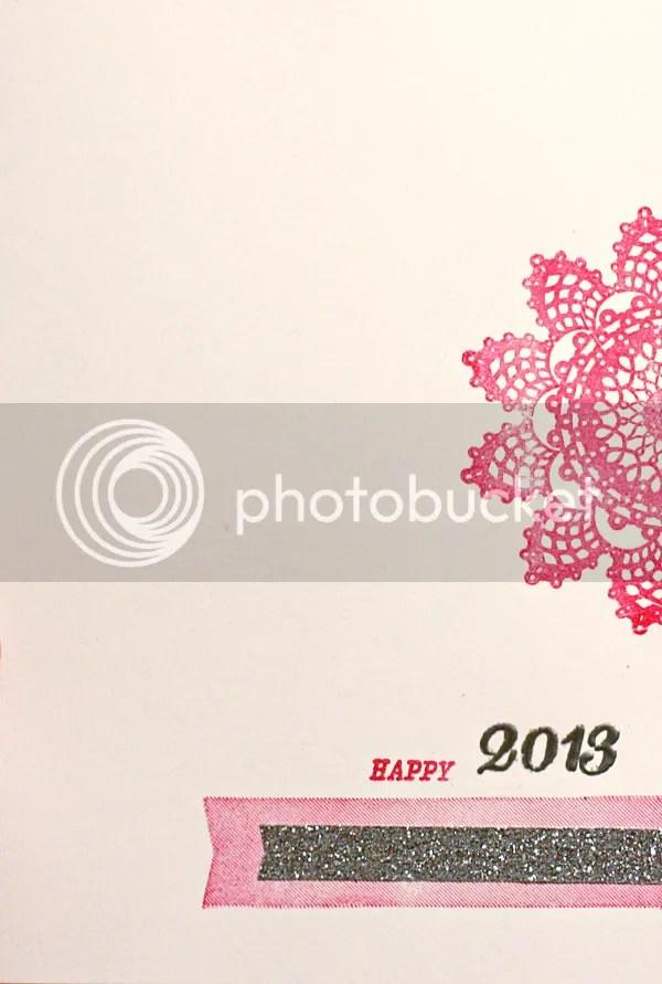 Happy 2013 card