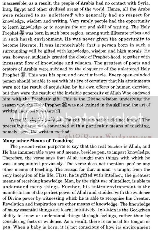 Surah Al-Alaq 96-09