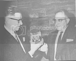 Dr. Arie Haagen-Smit receiving Tolman Medal from Dr. Thomas Doumani photo 137d1752-a268-4b21-aaff-5715779b4d8a.jpg