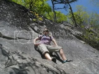 I liked this massive rock ledge. :) Part mountain goat...