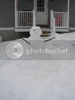 Snowman!!! I shall name him Bob.