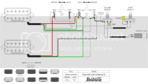 Need help with Ibanez super 5 way switch wiring, VLX91 | SevenString