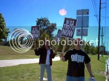 911 protestors