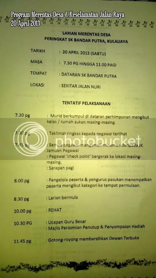 Program Merentas Desa dan Keselamatan Jalan Raya 2013 (2/6)