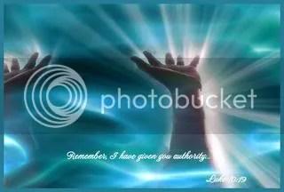Jesus has given us authority photo: Jesus has given us authority praisethelord.jpg