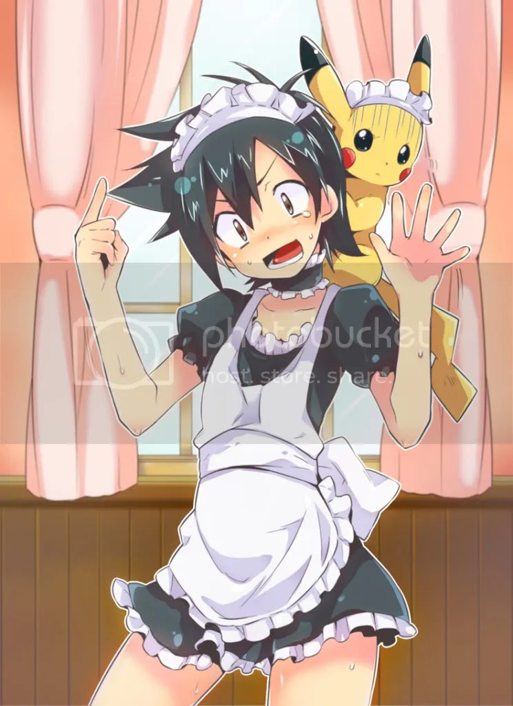 ash ketchum maid Pictures, Images and Photos