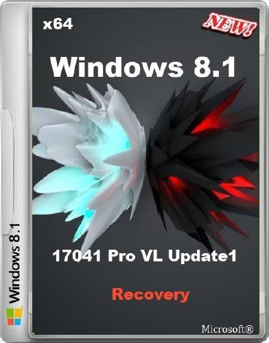 Windows 8.1.17041 Pro VL Update1 x64 (2014/RUS)