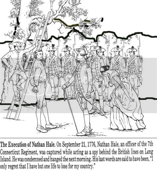 Revolutionary War solder coloring pages: 11 historic uniforms ... | 600x549