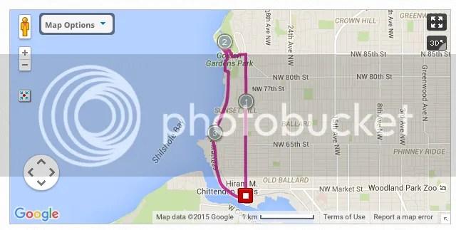 Ballard Running Route