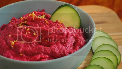BEST Beet Hummus Recipe