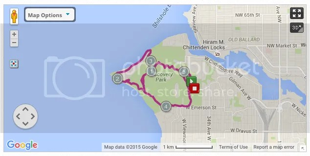 Discovery Park 5 miler
