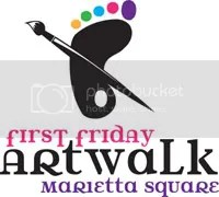 First Friday Art Walk Marietta Square