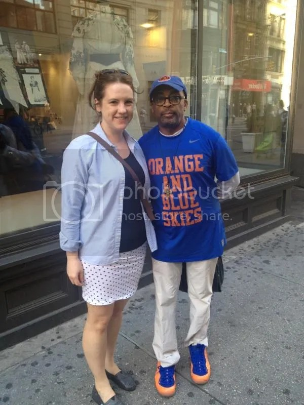 June          Mayimbe    Met a legend in Spike Lee