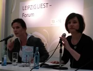Anne Hertz - Leipziger Buchmesse
