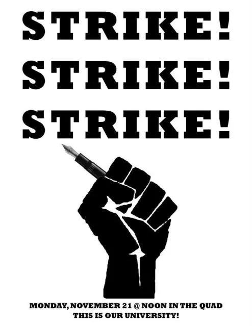 Occupy UC Davis Strike Poster