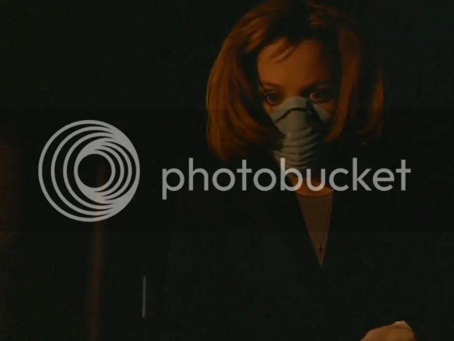 Scully pasó un gran susto y esto nos enseña que el tapabocas no es suficiente :P