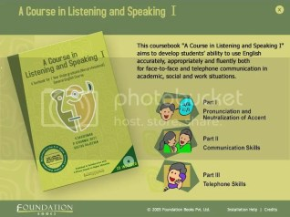 A Course In Listening and Speaking English