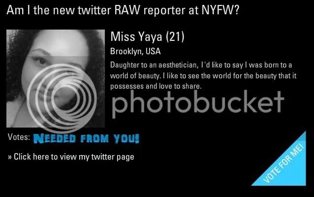Vote for Yaya