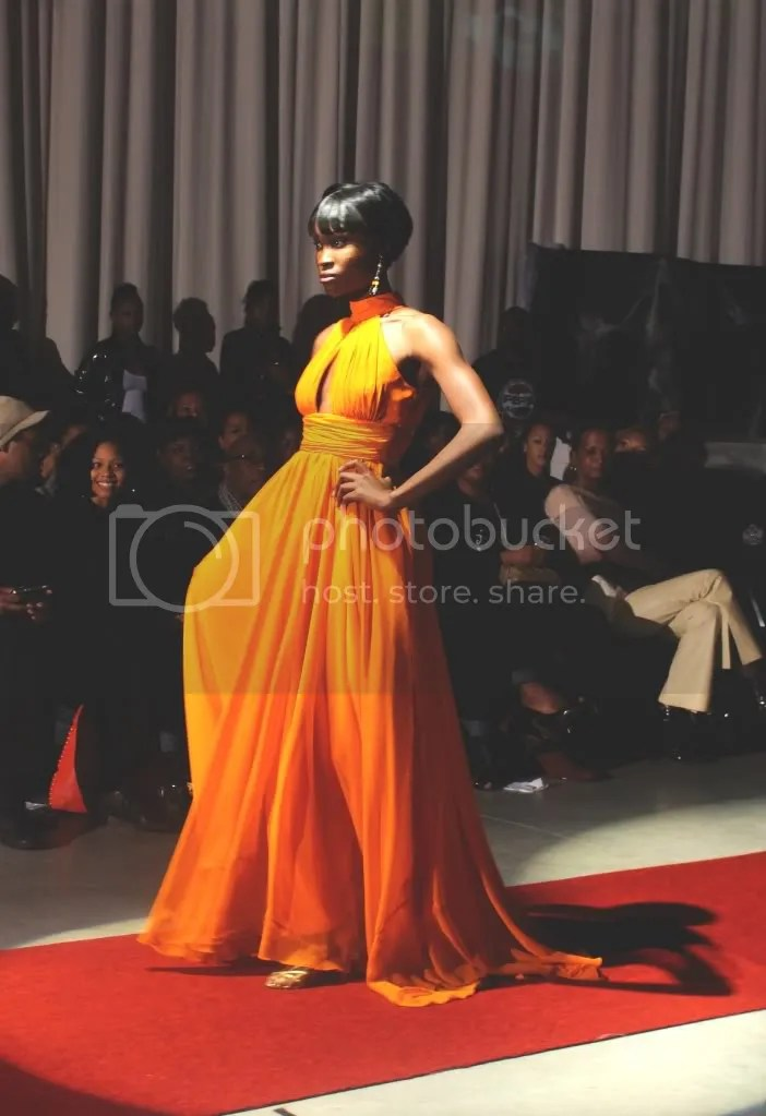 Yaya covers Simon Duncan fashion show