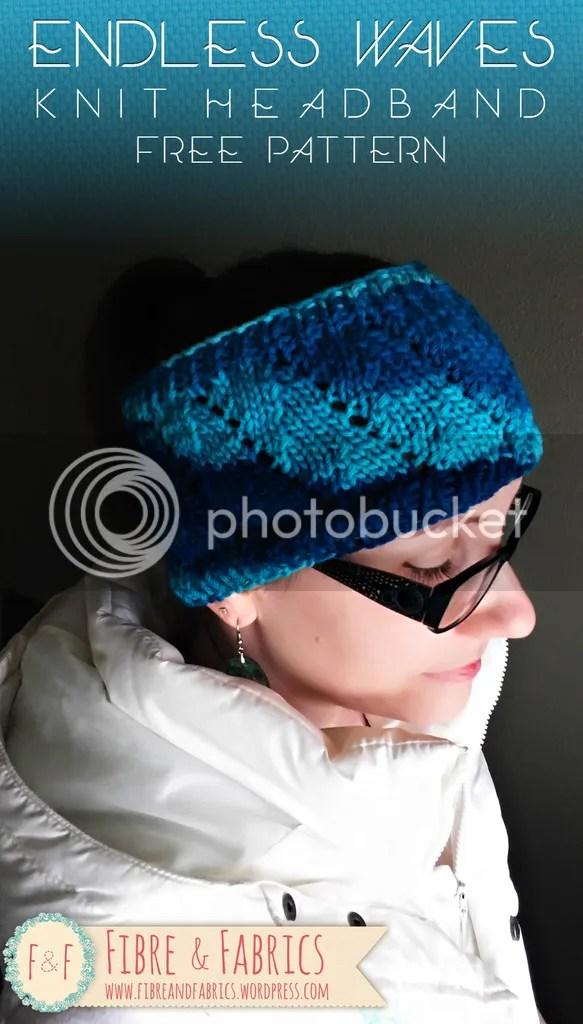 Free #knitting pattern - Endless Waves Headband - by @fibreandfabrics