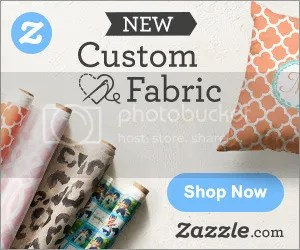 Customize beautiful fabric that is uniquely you on Zazzle!